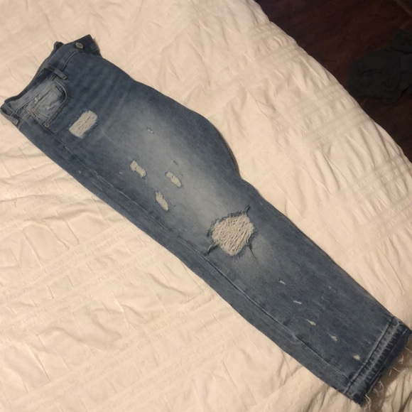 Express Denim - Distressed jeans from express